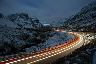 The Pass of Glencoe, dusk