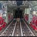 Inside a C-130J of the USAF