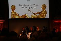 photoset: Kunstkammer: Neuereröffnung Pressekonferez (Kunsthistorisches Museum, 27.2.2013)