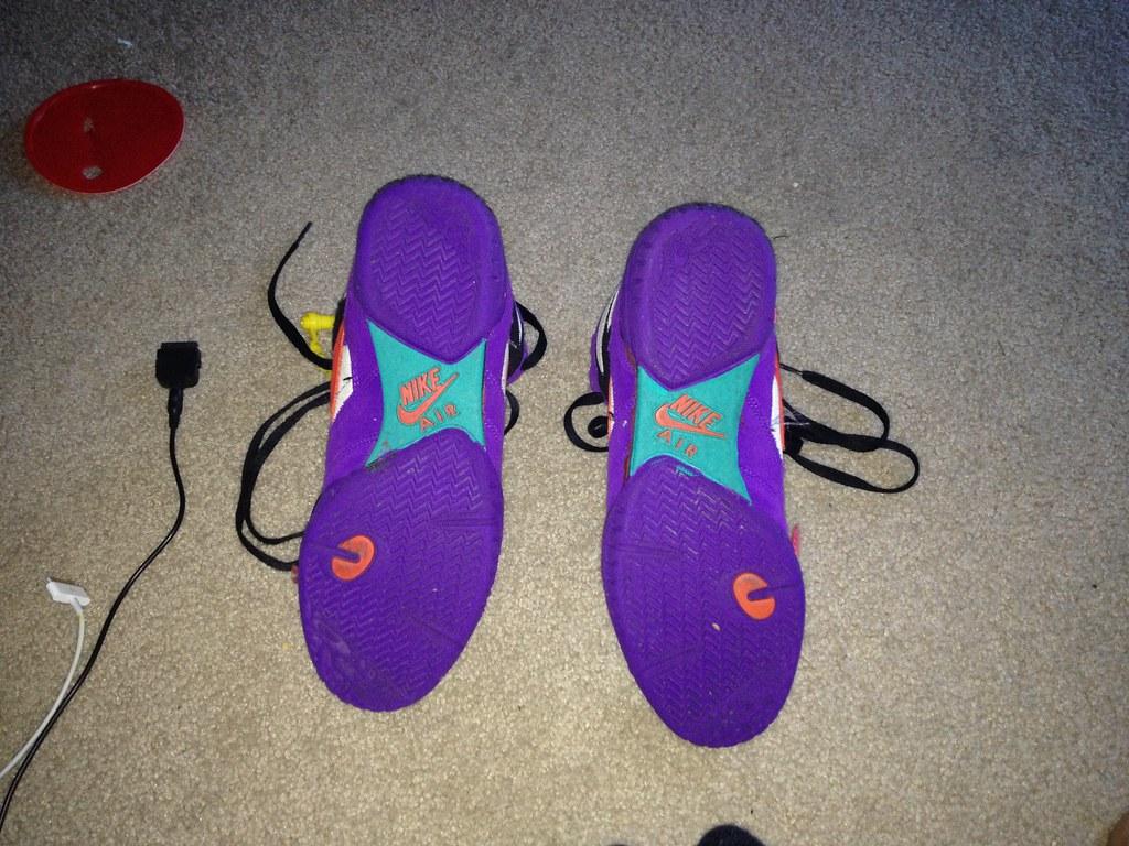 timeless design 1e011 a3dc0 PURPLE NIKE AIR REVERSALS (Jurdon Burrowz 9187607410) Tags  west speed shoe  shoes teal