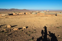 Beautiful, rocks and lonely landscape of the Ouarzazate province, Morocco (jbdodane) Tags: africa bicycle cycling morocco maroc jb velo antiatlas day112 cyclotourisme cycletouring freewheelycom