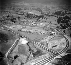 Conejo Village Shopping Center, 1965 (ConejoThruTheLens) Tags: thousandoaks janssmall conejothroughthelens conejovillageshoppingcenter