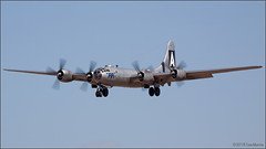 B29 FIFI (Tom_Morris Photos) Tags: wwii boeing fifi caf warbird b29 superfortress dvt b29a commemorativeairforce deervalleyairport kdvt confederateairforce n529b 4462070 model345 cafairpowerhistorytour