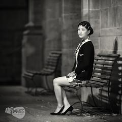 Jo Cheongsam (James Yu Photography) Tags: portrait au makeup australia adelaide nightscene southaustralia 580ex qipao cheongsam adelaideuniversity 旗袍 oldshanghai strobist 詹姆斯视界
