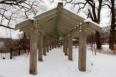 (januarys_gem) Tags: park winter snow nature minnesota outdoors march minneapolis mn minnehaha minnehahafalls 2013