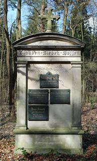 Tomb Stone of Professor Bernhard Plockhorst (1825-1907)