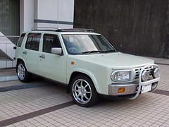 Nissan Rasheen (electrofreeze) Tags: cars car japan nissan vehicles nagasaki jdm rasheen