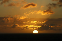 Leaving (Daniel Salinas Crdova) Tags: ocean sunset sea water clouds atardecer mar colombia cloudy nubes cartagena sudamrica latinoamrica danielsalinas danielsalinascrdova