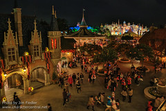 TDR Oct 2012 - A view of Fantasyland from above