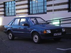 1985 Ford Escort 1.3 L (GoldScotland71) Tags: ford l 13 1980s 1985 escort mk3 c478ffv