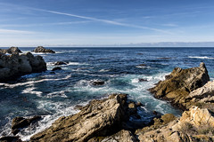Point Lobos (PhiiiiiiiL) Tags: ocean california road trip sea vacation usa sun holiday seascape west water stone by point landscape coast big nikon meer wasser state pacific south united reserve sunny steine highway1 carmel sur states lobos landschaft sonne ferien kalifornien felsen pazifik ozean d800e