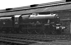 Railways - 45576 'Bombay' outside Crewe Works (Biffo1944) Tags: jubilee railway bombay lms 460 creweworks 45576