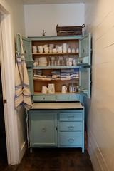 Hutch (Heath & the B.L.T. boys) Tags: seattle blue hutch pitcher shelves armoire
