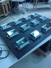 3x4 myki LED array at the LED Madness event