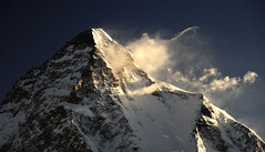 K2 (8611 m) at Sunrise, Karakorum (Oleg Bartunov) Tags: flickraward nikonflickraward