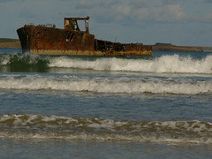 Ship Wreck at Inganess Bay