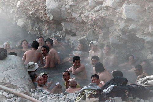 0525 At the hot springs--Gui De , Qinghai Province , China