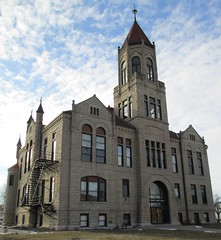 Iowa County Courthouse (Marengo, Iowa) (courthouselover) Tags: iowa ia marengo courthouses 1890s 1892 iowacounty countycourthouses fosterliebbe uscciaiowa