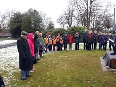 Mrs Elder's 185th Birthday Party (acumfaegovan) Tags: birthday party dedication bench scotland memorial glasgow elder isabella govan 185th elderpark derekneilson mrselders185thbirthdayparty friendsofelderpark