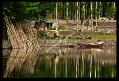 REFLECTIONS! (TARIQ HAMEED SULEMANI) Tags: travel summer tourism colors trekking canon culture shangrila concordia tariq skardu supershot concordians sulemani tariqhameedsulemani