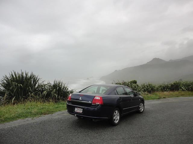 newzealand southisland tasmansea westcoast v6 greymouth mitsubishi380 rapahoe czr589