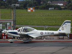 G-BYUM Grob 115 (Aircaft @ Gloucestershire Airport By James) Tags: gloucestershire airport gbyum grob 115 egbj james lloyds