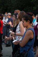 Peace Vigil -19 (MosaicMarj) Tags: brooklyn peace unity faith parkslope vigil candlelightvigil grandarmyplaza blacklivesmatter ericladams altonsterling philandocastile delrawnsmall whitepeopleforblacklives 3in3days