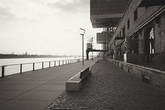 no. 15 (winne pu) Tags: monochrome architecture germany cologne kln rheinauhafen