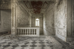 Royale (Opiesse) Tags: urbex decay abandoned staircase