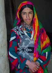 Portrait of an afghan woman in traditional clothing from pamir area, Badakhshan province, Khandood, Afghanistan (Eric Lafforgue) Tags: 3034years adult adultsonly afghan afghan526 afghani afghanistan anthropolgy badakhshanprovince centralasia colourimage community headscarf indigenousculture ismaili khandood lifestyles lookingatcamera multicolored multicoloured necklace oneperson onewomanonly photography portrait poverty traditionalclothing veil vertical waistup wakhan wakhi women womenonly pamir