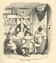 """""""Horatio Sparkins"""" (Rescued by Rover) Tags: george cruikshank sketches boz illustration charles dickens victorian london"""