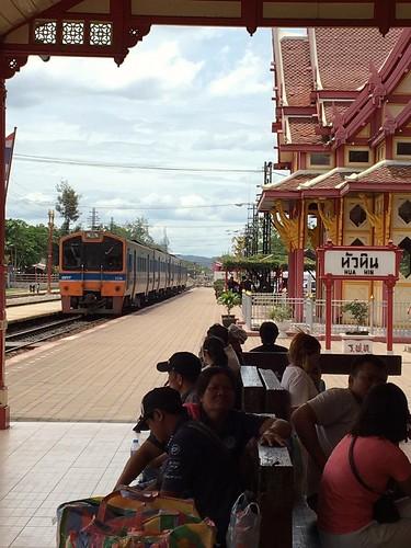 Hua Hin Station, Thailand.