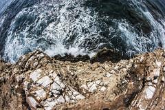 Vertigini (Fabio75Photo) Tags: mare precipizio vertigini vertigo paura cascare terrore blu volare onda infrangersi rocce rox