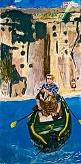 "Rowing from Ericeira"" (2014) - Paula Rego (1935) (pedrosimoes7) Tags: paularego casadasestrias cascais portugal museu muse museum creativecommons cc portuguesepainter pintoraportuguesa peintreportugaise ecoledesbeauxarts artgalleryandmuseums"