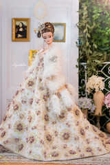 "OOAK Barbie Silkstone "" THE WINTER SONATA "" by AQUATALIS (AlexNg & QuanaP) Tags: ooak barbie silkstone thewintersonata by aquatalis makeover photos quanap gowns accessories alexng"