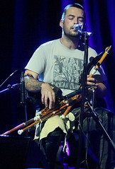 Lynched (2016) 01 - Ian Lynch (KM's Live Music shots) Tags: folkmusic ireland irishfolk lynched ianlynch uilleannpipes bagpipes sidmouthfolkweek hamconcertmarquee