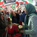 Maryam Rajavi at the celebration of the Relocation of Camp Liberty residents-1