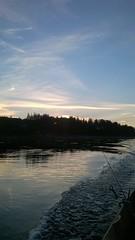 WP_20160707_00_24_40_Pro (www.ilkkajukarainen.fi) Tags: night norway finland scandinavia virta joki vene boat salmon fishing lapland sun kalastus soutu lohen urheilu sport lust fiske maisema nuorgam