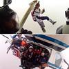 Hanging in the clouds!                 #fast #skydivemadrid #enjoy #sefie? #friends #salta #madrid #spain