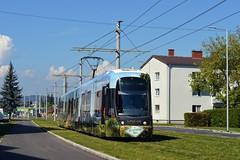 Straenbahn Linz (danielhak) Tags: cityrunner 015 linz traun erffnung strasenbahn