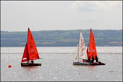 West Kirby Wirral  230816 (33) (over 4 million views thank you) Tags: westkirby wirral lizcallan lizcallanphotography sea seaside beach sand sandy boats water islands people ben bordercollie dog beaches reflections canoes rocks causeway yachts outside landscape seascape