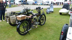 1924 Raleigh Model 2 2.3hp Reg: SV 4718 (bertie's world) Tags: lincolnshire steam rally 2016 lincoln showground sv4718 raleigh reg 1924 model 223hp