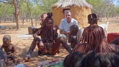 Danny With Himba Tribe, Otjikandero Himba Village Near Outjo, Kunene, Namibia (HDR) (dannymfoster) Tags: africa namibia outjo himba himbavillage himbatribe otjikandero otjikanderohimbavillage