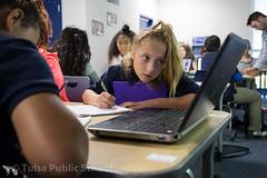 5D-3838.jpg (Tulsa Public Schools) Tags: clinton middleschool ok oklahoma tps tulsa tulsapublicschools classroom computer people school student students technology unitedstates usa