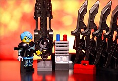 And B shots (Frost Bricks) Tags: lego cyborg minifigure