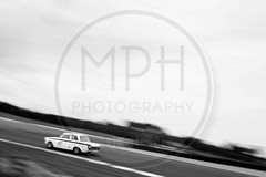 James Clarke - Ford Lotus Cortina (MPH94) Tags: oulton park gold cup north west cheshire hscc historic sports car club cars auto motor sport motorsport race racing motorracing august bank holiday weekend photography motorsportphotography classic vintage black white monochrome hrsr bybox touring james clarke ford lotus cortina worldcars