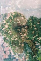 Triple Exposure (mertcanyucel) Tags: tripleexposure triple analog analogue analogphotography analoguephotography analogico analogfotoraf canon canonat1 camera color colorful bergamo love green filmphotography filmisnotdead film tudor tudor200 fotografiaanalogico