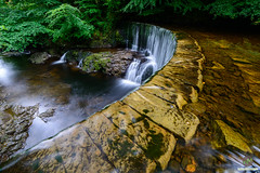 Curve (w.mekwi photography [here & there]) Tags: flow longexposure scotland oldmill wideangle water trees lochwinnoch outdoors uk landscape wmekwiphotography nikond800