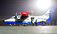 _DSC7133 (southspotterman1) Tags: l410 airplanes spotting unoo inomsk omsk airport     410  nightspotting