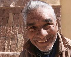 Sacerdote (glucamorettini) Tags: sacerdote volti bolivia pueblos sorriso glimpse canon viaggi smile